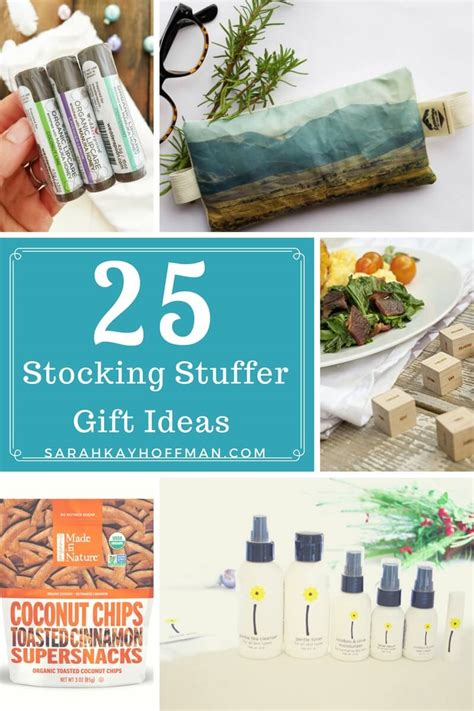 25 gift ideas 25 stocking stuffer gift ideas sarah kay hoffman