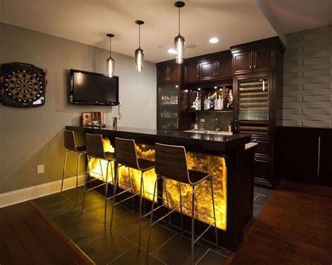 Creative Home Bars How To Build Basement Bar Design Ideas