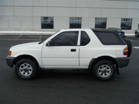 car owners manuals for sale 1999 isuzu amigo parental controls purchase used 1999 isuzu amigo s sport utility 2 door 4x4 2 2l 5 speed manual transmission in