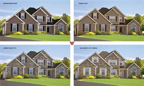 visualize vinyl siding colors on houses 17 best images about glen gery brick homes on pinterest lorraine clay pavers and