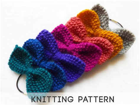 how to knit a bow unavailable listing on etsy