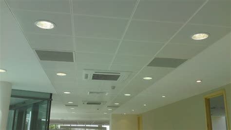 Ceiling Partition by Bright Light