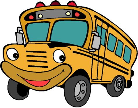 imagenes buses escolares animados bus animado imagui