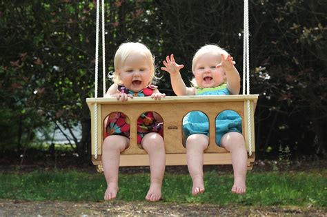 twin swings for babies baby gear for twins