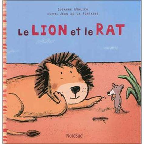 film le lion et le rat le lion et le rat broch 233 jean de la fontaine susanne