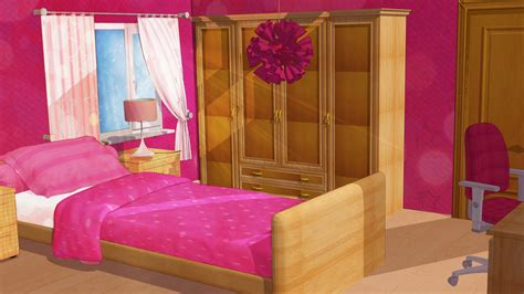 background bedroom anime style background girl bedroom by firesnake666 on