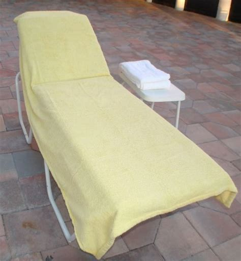 pool lounge chair covers lounge chair covers for pool spa hotel yellow