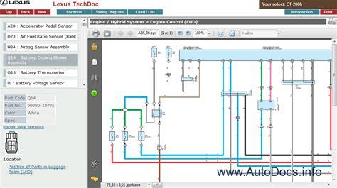 online auto repair manual 2011 lexus ct engine control lexus ct200h service manual repair manual order download