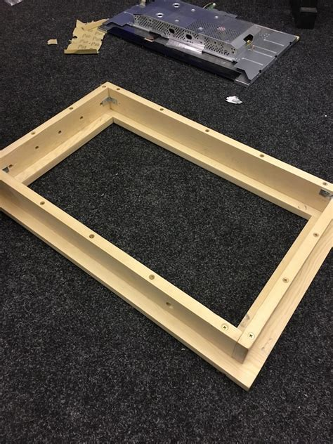 Build An A Frame   man creates diy magic mirror that displays helpful information