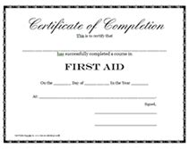 templates for first aid certificates free alchemy cpr handouts