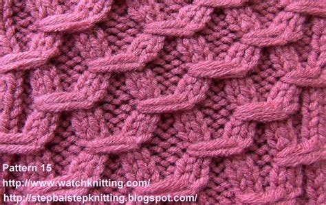 knitting projects hexagonal embossed stitches free knitting tutorial