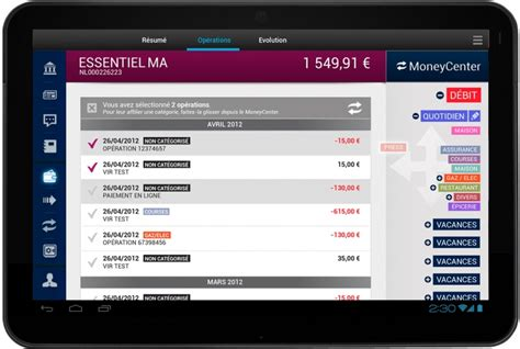 design application eu design et ergonomie d une application tablette ipad android