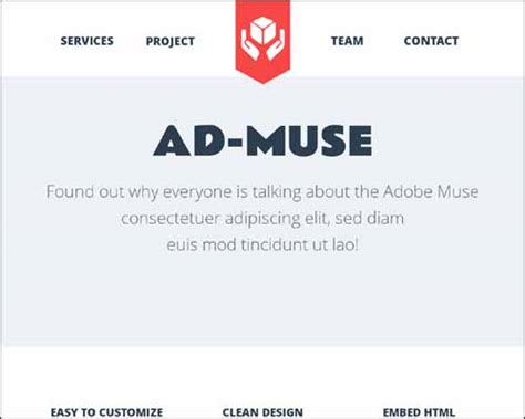 free responsive muse templates free and premium responsive adobe muse templates free and