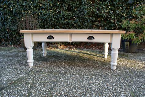 vierkante salontafel landelijk salontafel landelijk maatwerk landelijke tafels