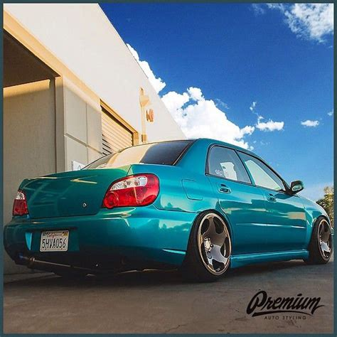 subaru teal 3mgraphics new 1080 atomic teal vinyl wrap lookin