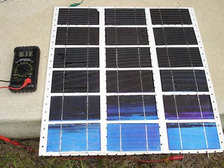 do it yourself solar energy home made solar panels a viable alternative energy solution