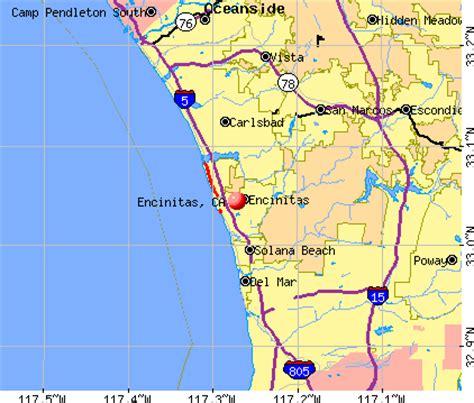 california map encinitas pin encinitas ca map on