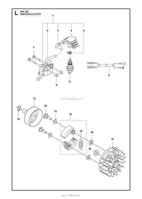 husqvarna 525 l 2013 03 parts diagram for ignition