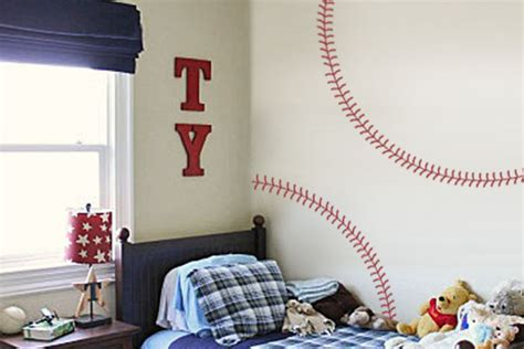 baseball wall stickers baseball stitches wall decal trading phrases