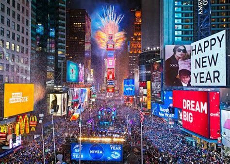 times square new year s schedule nyc on the cheap
