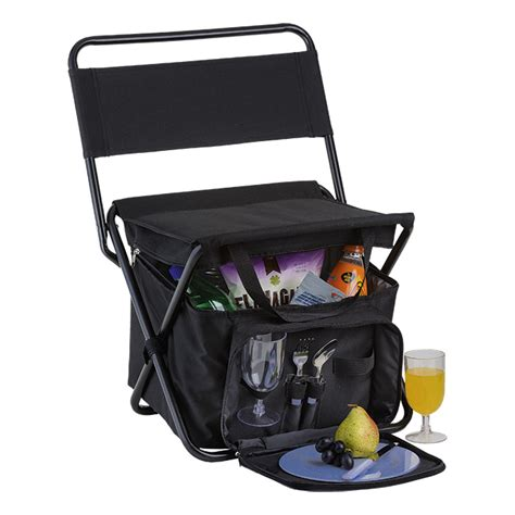 1kg Promo Picnic Cooler Set picnic chair cooler with 2 person picnic set the promo