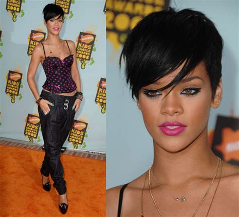 short weave hairstyles for rihanna and haille berry whoopi goldberg