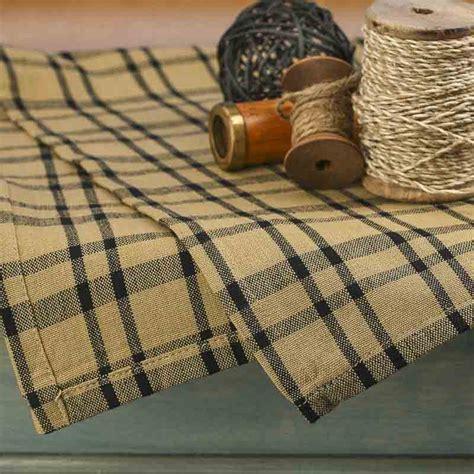 natural and black gingham plaid dish towel kitchen natural and black plaid dish towel kitchen towels