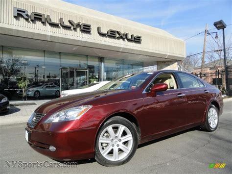 red lexus 2008 2008 lexus es 350 in royal ruby red metallic 237201