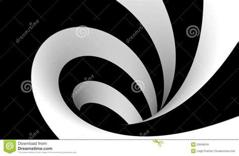 imagenes blanco y negro abstractas espiral blanco y negro abstracto imagen de archivo libre