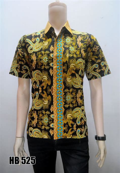 grosir batik terlaris kemeja batik cotton lengan pendek