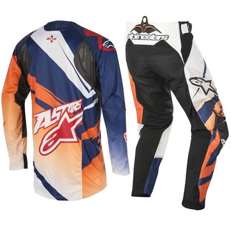 motocross gear manufacturers alpinestars 2016 mx techstar venom orange navy ktm