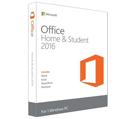 microsoft home office microsoft office home student 2016 deals pc world
