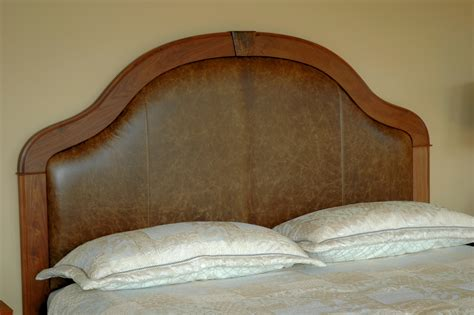 Custom Leather Headboards Leather Upholstered Headboard And Nightstands Gt Montana Furniture Gt Handmade Furniture In