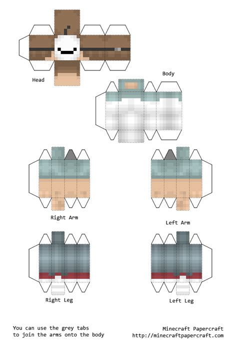 Papercraft Person - minecraft papercraft bendable skins related keywords