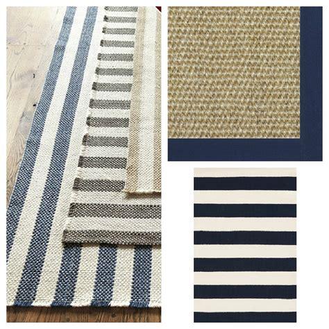 nautical themed rugs fresh home the atelier a original the breton stripe