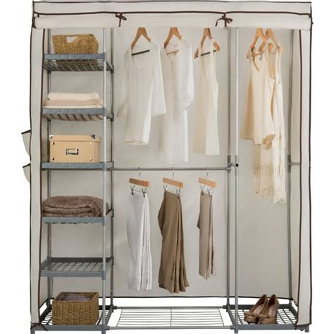 Argos Wardrobe Storage by Buy Home Metal And Polycotton Wardrobe At