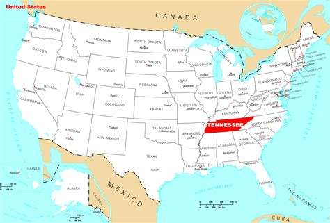 locations in nashville tn where is tennessee located mapsof net