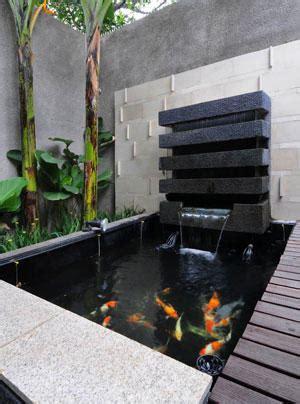 desain eksterior kolam rumah minimalis penyejuk suasana