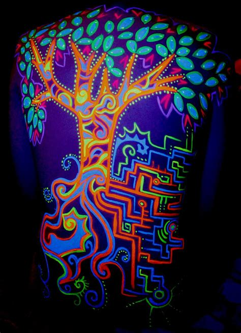 blacklight tattoo ink uv ink