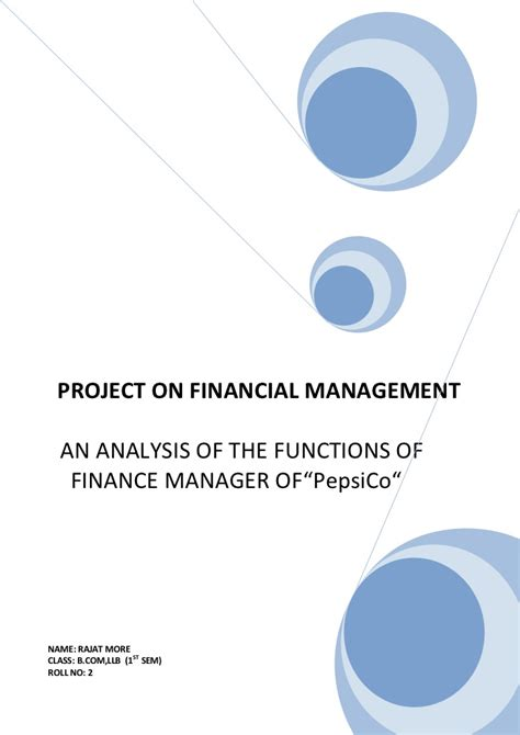 Mba Financial Accounting Primer Se Libby by Financial Management