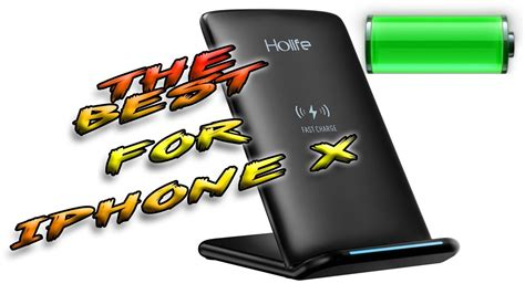 holife fast wireless charging stand iphone
