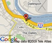 the dalles oregon map the dalles inn the dalles deals see hotel photos