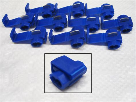 electrical cable joiners scotch locks blue pack of 10 splicer joiner wire crimp