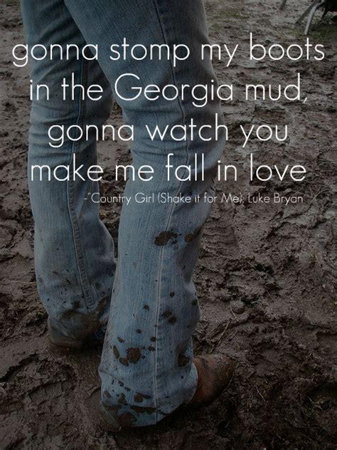 country music video mudding luke bryan lyrics