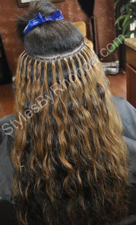 hair do with sew in weave with a part in the middle information on sewed in hair extensions kind of hair