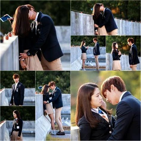 film drama seksual foto ciuman romantis lee min ho dengan park shin hye dalam