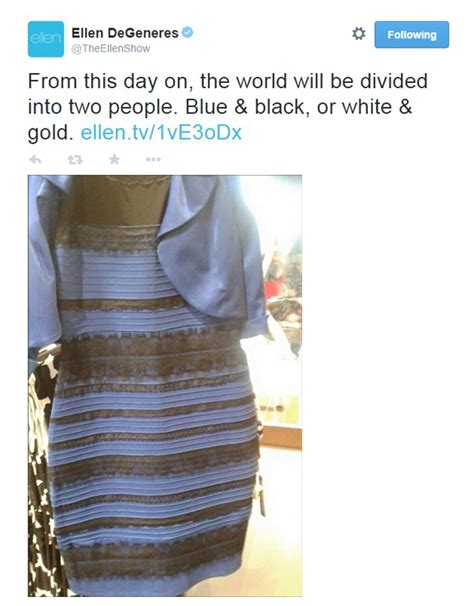the dress is blue and black says the girl who saw it in the dress that divided the internet is blue and black