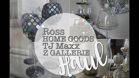 tj maxx home goods curtains tj maxx home goods ross z gallerie haul christmas