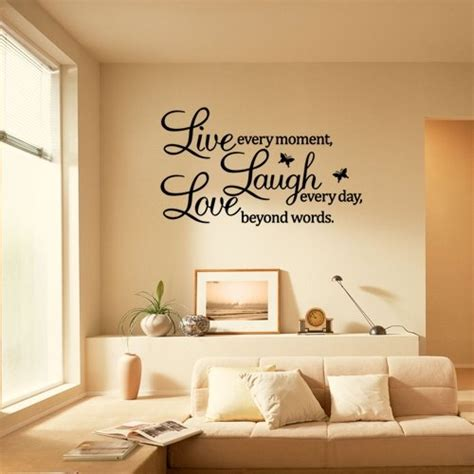 live laugh living room ideas witzige und beliebte wandtattoo spr 252 che