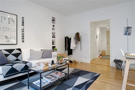 well known interior designers 40 square meter apartment with the well known swedish